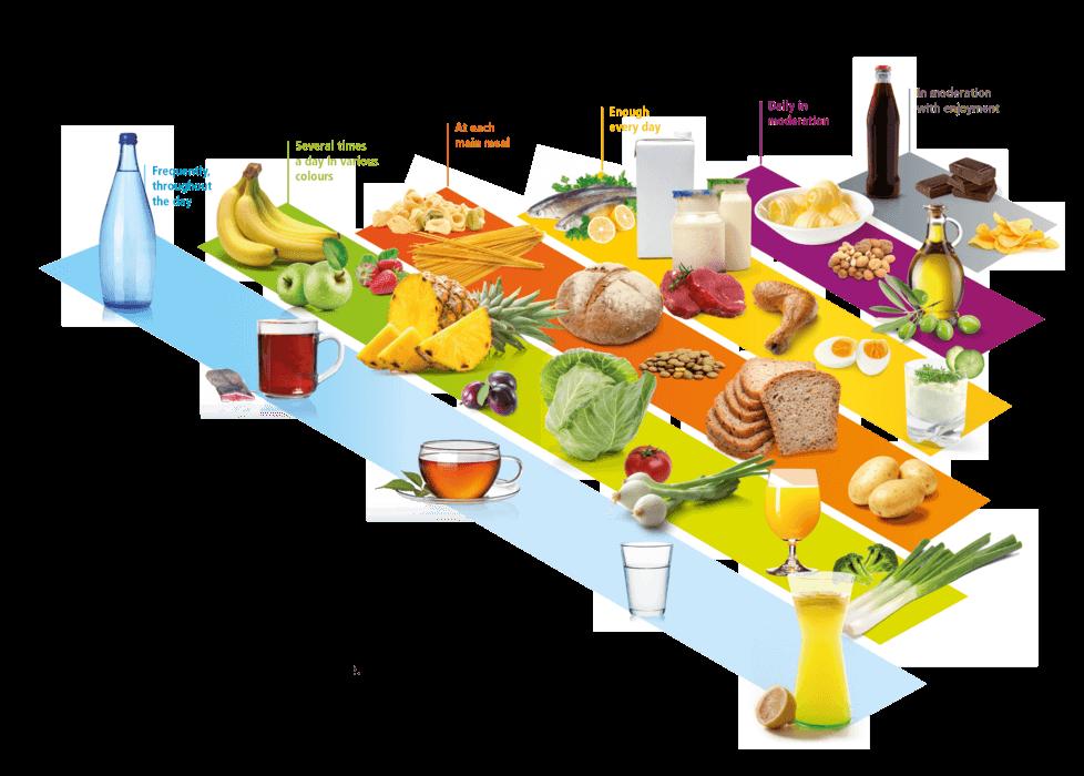 هرم غذایی برای گز کرمانی 42% پسته ویژه لقمه