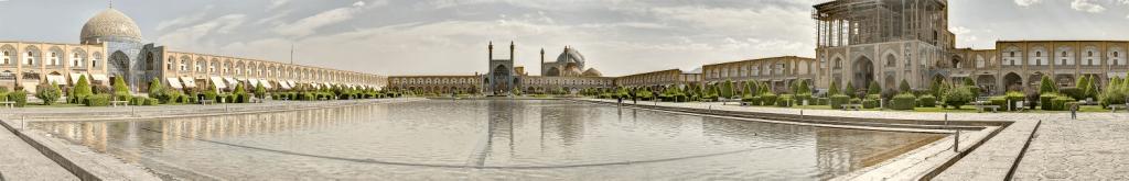 تصویر میدان امام بازار خرید گز کرمانی اصفهان
