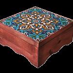 گزمظفری 40% پسته بیدمشکی لقمه ای مخصوص جعبه چوبی و کاشی دستساز نفیس