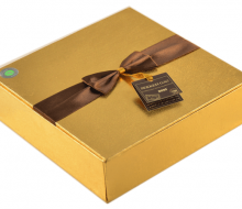 گز چهار مغز شکلاتی سکه – رویال ۳ طلایی | فروشگاه گز سکه