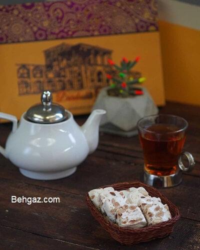خاصیت گز بادامی اصیل اصفهان