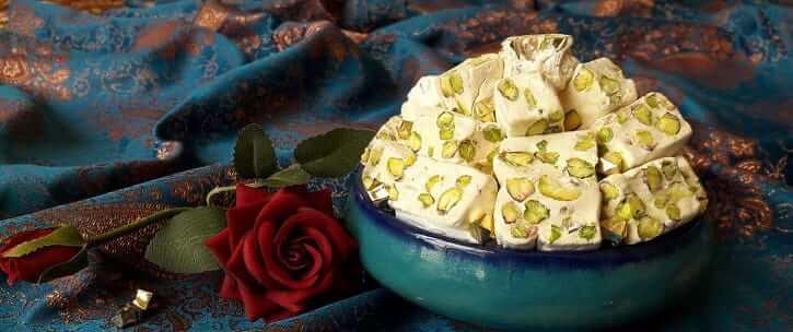 عکس انواع گز اصفهان