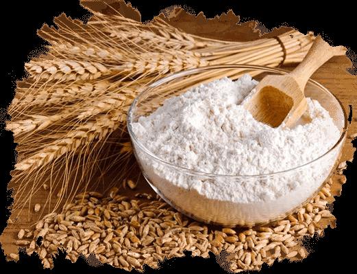 تقلب درنان و آرد در صنعت غذایی