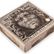 گز سکه ۲۵ درصد مغز پسته روکش شکلاتی مدوزا – ۴۵۰ گرم