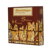 سوهان عسلی با روکش شکلات سکه – ۴۰۰ گرم