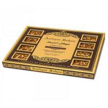 سوهان عسلی زعفرانی لقمه ای گز آنتیک – ۴۰۰ گرمی